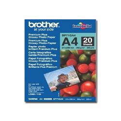 Carta fotografica Brother - Innobella premium plus - carta fotografica - lucido - 20 fogli - a4 bp71ga4