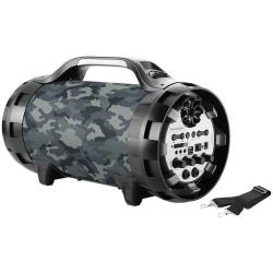 Speaker wireless BigBen Interactive - Bigben Interactive Wireless Ghetto Blaster with lights BT50ARMY Camouflage