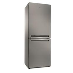Réfrigérateur Whirlpool B TNF 5012 OX - Réfrigérateur/congélateur - pose libre - largeur : 70 cm - profondeur : 75.5 cm - hauteur : 195.5 cm - 450 litres - congélateur bas - Classe A++ - inox