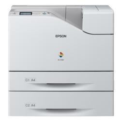 Imprimante laser Epson WorkForce AL-C500DTN - Imprimante - couleur - Recto-verso - laser - A4/Legal - jusqu'à 45 ppm (mono) / jusqu'à 45 ppm (couleur) - capacité : 1250 feuilles - USB, Gigabit LAN