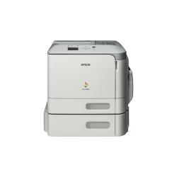 Imprimante laser Epson WorkForce AL-C300TN - Imprimante - couleur - laser - A4/Legal - 1200 x 1200 ppp - jusqu'à 31 ppm (mono) / jusqu'à 31 ppm (couleur) - capacité : 850 feuilles - USB 2.0, Gigabit LAN, hôte USB