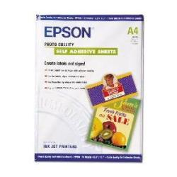 Carta Epson - Photo quality self adhesive sheets - sheets - 10 pezzi - a4 c13s041106