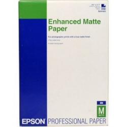 Carta fotografica Epson - Enhanced matte - carta - opaca - 250 fogli - a4 - 192 g/m² c13s041718