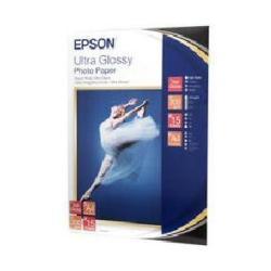 Carta fotografica Epson - Ultra glossy photo paper - carta fotografica - lucido - 15 fogli - a4 c13s041927