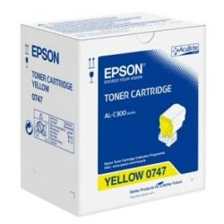 Toner Epson - Giallo - originale - cartuccia toner c13s050747