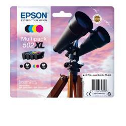 Cartuccia Epson - 502xl multipack - confezione da 4 - xl c13t02w64010