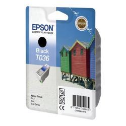 Cartuccia Epson - T036 - nero - originale - cartuccia d'inchiostro c13t03614010
