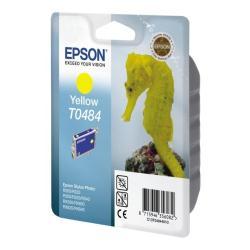 Cartuccia Epson - T0484 - giallo - originale - cartuccia d'inchiostro c13t04844010
