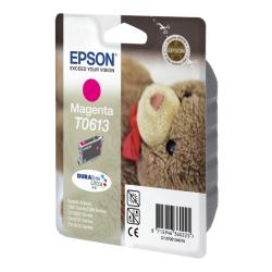 Cartuccia Epson - T0613 - magenta - originale - cartuccia d'inchiostro c13t06134010