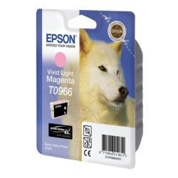 Cartuccia Epson - T0966 - magenta chiaro vivid - originale - cartuccia d'inchiostro c13t09664020