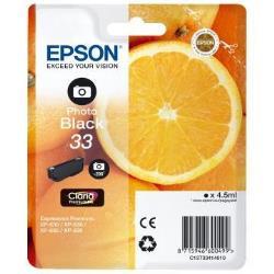 Cartuccia Epson - 33 - nero per foto - originale - cartuccia d'inchiostro c13t33414022