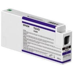 Cartuccia Epson - T824d - viola - originale - cartuccia d'inchiostro c13t824d00