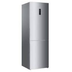 Réfrigérateur Haier C2FE636CSJ - Réfrigérateur/congélateur - pose libre - largeur : 59.5 cm - profondeur : 67.2 cm - hauteur : 190.5 cm - 352 litres - congélateur bas - classe A+ - argenté(e)