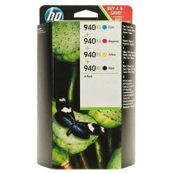 Cartuccia HP - 940XL CMYK INK CARTRIDGE COMBO PACK