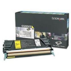 Toner Lexmark - Giallo - originale - cartuccia toner - lrp c5200ys