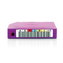 Supporto storage Hewlett Packard Enterprise - Hp lto-6 ultrium  mp rw rfid  6.25