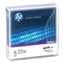 Supporto storage Hewlett Packard Enterprise - Hpe rw data cartridge - lto ultrium 6 x 20 - 2.5 tb c7976an