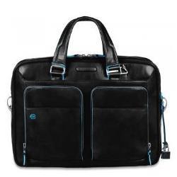 Borsa Piquadro - Blue square borsa trasporto notebook ca2849b2/n