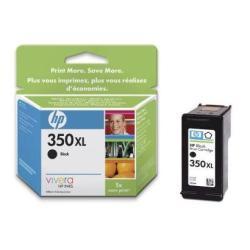 Cartuccia HP - 350xl - alta resa - nero - originale - cartuccia d'inchiostro cb336ee#abe