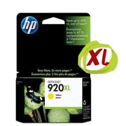 Cartuccia HP - 920xl - alta resa - giallo - originale - cartuccia d'inchiostro cd974ae#bgx