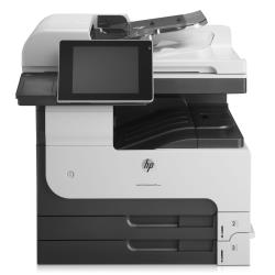 Imprimante laser multifonction HP LaserJet Enterprise MFP M725dn - Imprimante multifonctions - Noir et blanc - laser - A3 (297 x 420 mm) (original) - A3/Ledger (support) - jusqu'à 41 ppm (copie) - jusqu'à 41 ppm (impression) - 600 feuilles - USB 2.0, Gigabit LAN, hôte USB, hôte USB (interne)