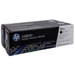 Toner HP - 131x - confezione da 2 - nero - originale - laserjet cf210xd