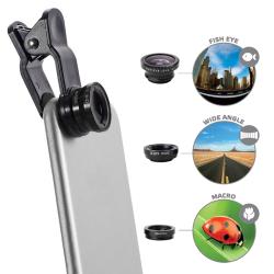 Custodia Celly - Clip lens kit