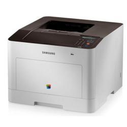 Imprimante laser Samsung CLP-680ND - Imprimante - couleur - Recto-verso - laser - A4/Legal - jusqu'à 24 ppm (mono) / jusqu'à 24 ppm (couleur) - capacité : 300 feuilles - USB, Gigabit LAN, hôte USB