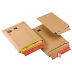 Busta Colompac - Cp 010 - busta postale - 229 x 310 mm - estremità aperta - marrone cp01003