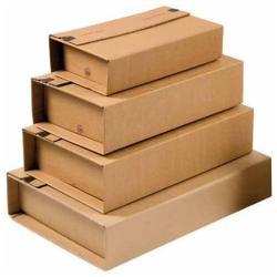 Scatola Cp 020 pacco postale 38 cm x 26.5 cm x 10 cm marrone pacco da 20 cp02012