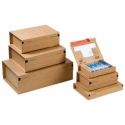 Scatola Cp 067 pacco postale 28.5 cm x 19 cm x 10 cm marrone pacco da 10 cp06702
