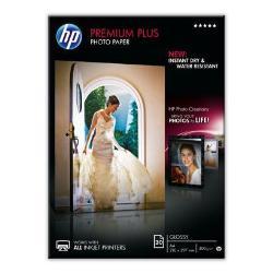Carta fotografica HP - Premium plus photo paper - carta fotografica - lucido - 20 fogli - a4 cr672a