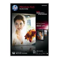 Carta fotografica HP - Premium plus photo paper - carta fotografica - semi-lucida - 20 fogli cr673a