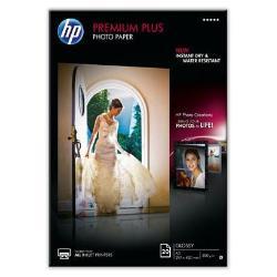 Carta fotografica HP - Premium plus photo paper - carta fotografica - lucido - 20 fogli - a3 cr675a