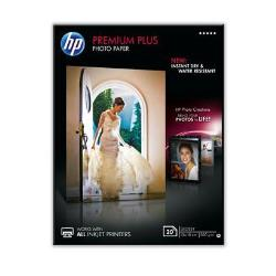 Carta fotografica HP - Premium plus photo paper - carta fotografica - lucido - 20 fogli cr676a