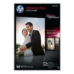 Carta fotografica HP - Premium plus photo paper - carta fotografica - lucido - 25 fogli cr677a