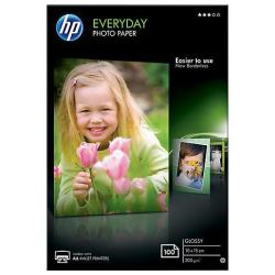 Carta fotografica HP - Everyday photo paper - carta fotografica - lucido - 100 fogli cr757a