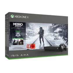 Image of Console Xbox one x - game console - 1 tb hdd - nero cyv-00286