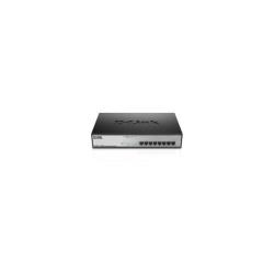 Switch D-Link - Dgs 1008mp - switch - 8 porte - unmanaged - montabile su rack dgs-1008mp