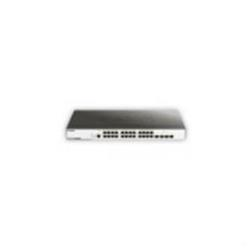 Switch D-Link - 24-port 10/100/1000mbps and 4 10g sfp+ managed gigabit switch