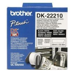 Nastro Brother - Dk-22210 - etichette - rotolo (2,9 cm x 30,5 m) dk22210