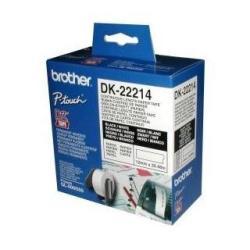Nastro Brother - Dk-22214 - carta termica - rotolo (1,2 cm x 30,5 m) dk22214