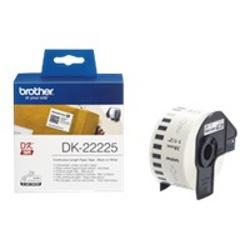Nastro Brother - Dk-22225 - etichette a modulo continuo - 1 rotoli dk22225