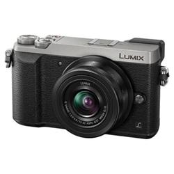 Appareil photo Panasonic Lumix G DMC-GX80K - Appareil photo numérique - sans miroir - 16.0 MP - Quatre tiers - 4K / 25 pi/s - 2.7x zoom optique objectif 12-32 mm - Wi-Fi - argenté(e)