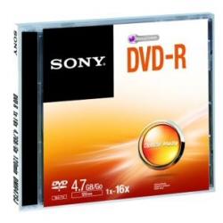 DVD Sony - Dvd-r 4.7gb  16x jewel case