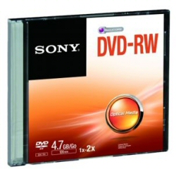 DVD Sony - Dvd-rw 2x 4.7gb slim case