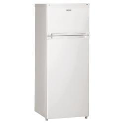 Réfrigérateur Ignis DPA26/3 - Réfrigérateur/congélateur - pose libre - largeur : 54 cm - profondeur : 59.5 cm - hauteur : 144 cm - 227 litres - congélateur haut - classe A+ - blanc