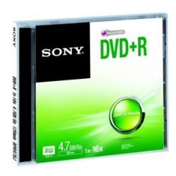 DVD Sony - Dvd+r 4.7gb  16x jewel case