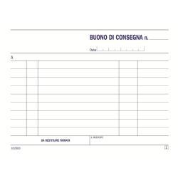 Modulistica Data Ufficio - Voucher di consegna - 33 fogli - 115 x 165 mm du161583300