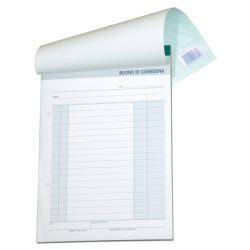 Modulistica Data Ufficio - Voucher di consegna - 50 fogli - 215 x 148 mm du164570000